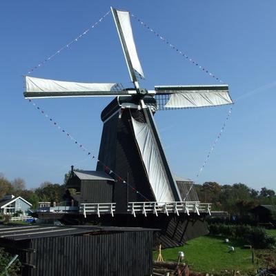 Paltrokmolen De Eenhoorn Haarlem