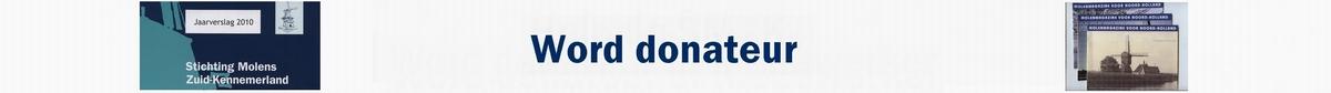 Word donateur van de SMZK