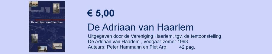 De Adriaan van Haarlem boekje